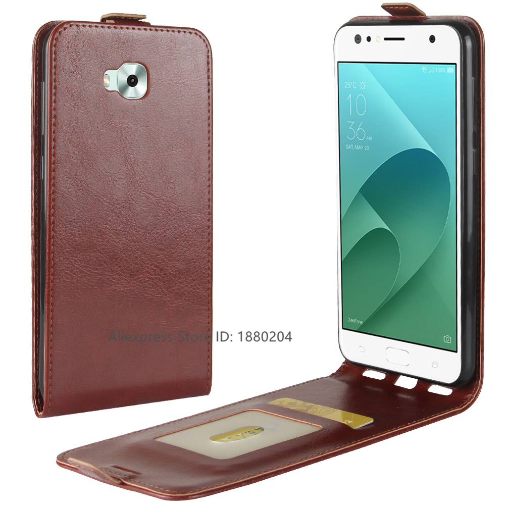 c436ae679f1c Luxury Protection Telefoon Hoesje For Asus ZenFone 4 Live ZB553KL ZenFone4  ZenFone 4 Selfie Phone Case PU Leather Flip Cover Bag-in Flip Cases from ...