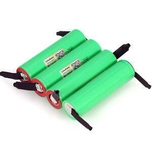 Image 5 - Liitokala 3.7v 18650 2500mah bateria inr1865025r 3.6v descarga 20a bateria de energia dedicada + folha de níquel diy