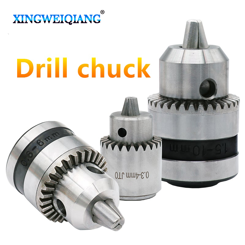 Key Type Electric Hand Drill Chucks Cap 0.3-4mm 0.6-6mm 1.5-10mm JTO Taper Mount Lathe Chuck PCB Drill Model Tools hight quality morse taper shank drill chucks set cnc lathe drill chuck 5 to 20mm b22 with no 3 morse taper mt3 with key