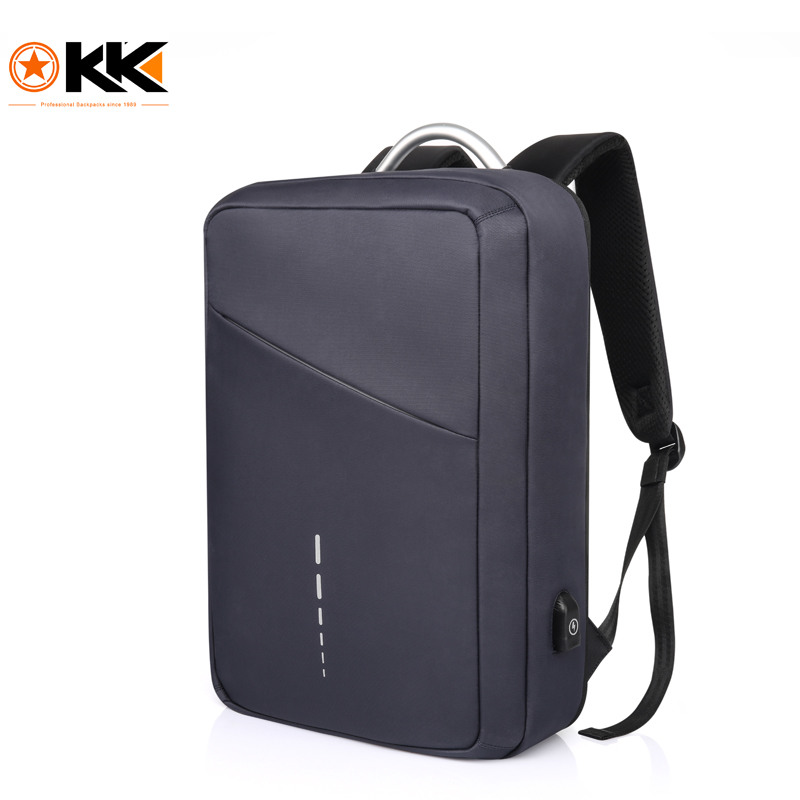 KAKA Brand Men Business Backpack Multi-function USB Bag Teenager School Student Bag Large Capacity Laptop Bag for Boys and Girls large capacity oxford backpack bag for teenager boys girls college multi function laptop fashion travel bags school bag yellow