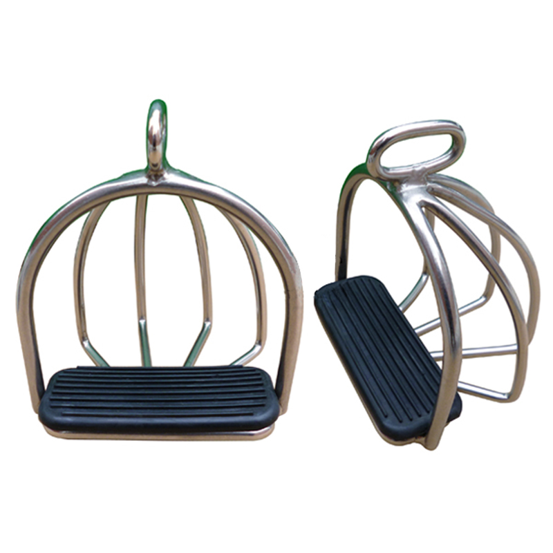 Horse Riding Racing Equipment, Horse Stirrup,with Rubber Pad ,Equestrian Saddle Accessories,  Paardensport Hipica A