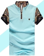 ZOGAA Summer New Fashion Shirts Floral Print Casual With Button Down Short SleeveTurn Down Collar Hawaiian Shirt Top Blouse Male floral print button decoration top