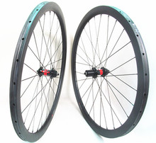 Farsports FSC38-TM-25 DT240 Cyclocross carbon 38mm tubular disc wheels with DT240S, center lock braking cycling carbon wheel 38
