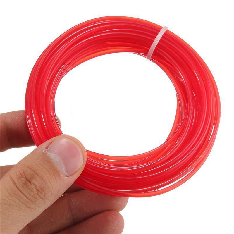 Strimmer Line Brushcutter Grass Trimmer Nylon Cord Wire Round String 2.4mm*15M