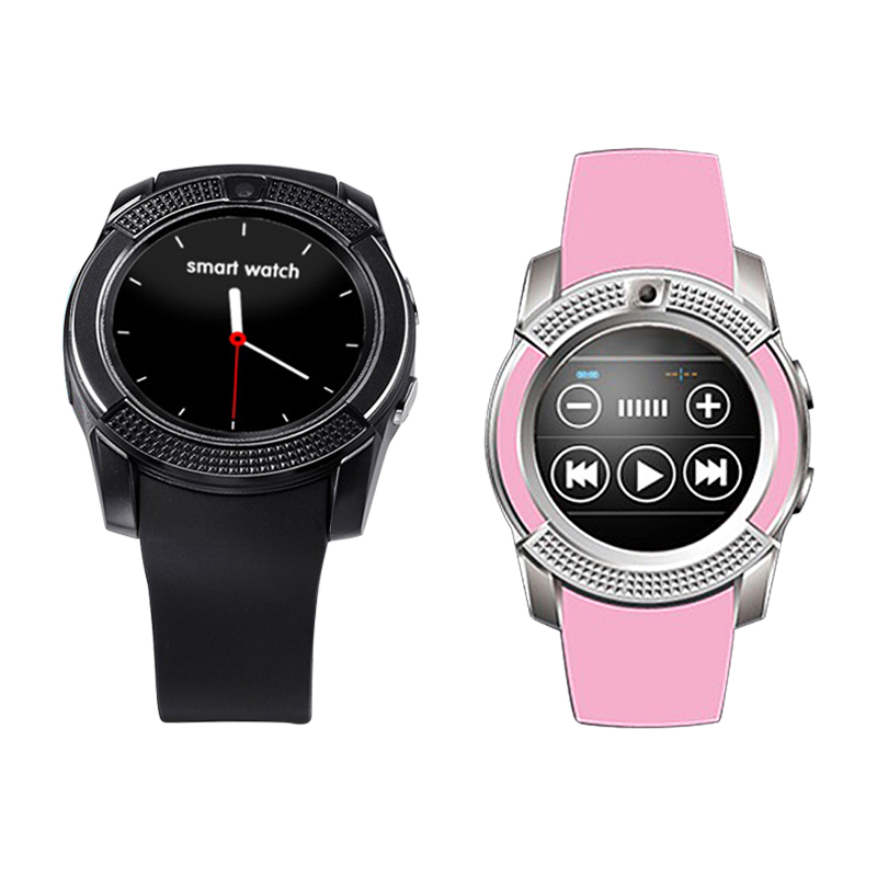 Round Dial Bluetooth Smart Watch Sleep Monitor Pedometer Tracker Sport Watch Sleep Fitness Tracker Smartwatch for Android