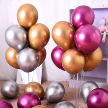 50pcs 12inch NEW Metallic Latex Balloons Thick Pearly Metal Chrome Alloy Colors Photograph wedding Party Decoration