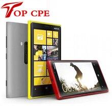 Abierto original nokia lumia 920 ventanas 1 gb ram 32 gb rom 3g 4g 8mp gps wifi bluetooth pantalla táctil reformado teléfono móvil
