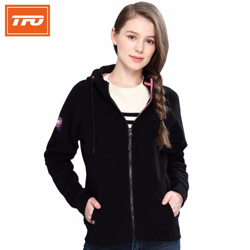 Tecnología tfo mujer polar fleece jackets women climatizada ropa senderismo chaq