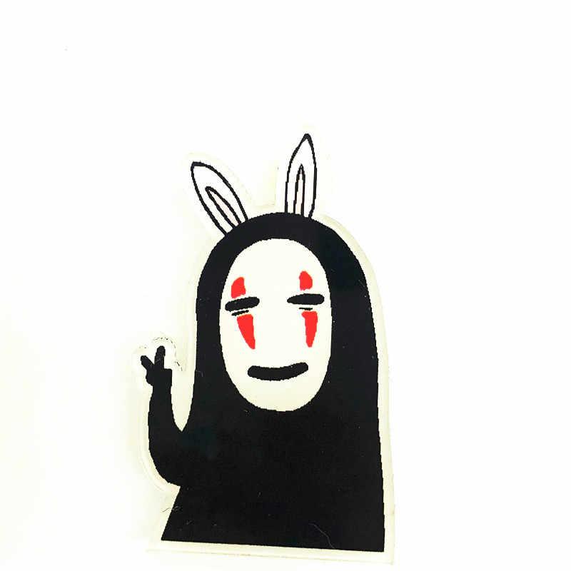1Pcs Lucu Kartun Anime Tidak Ada Wajah Pria Acrylic Bros Kawaii Lencana Ransel Pakaian Wanita Dekorasi Ikon Bros Pin Anak-anak hadiah