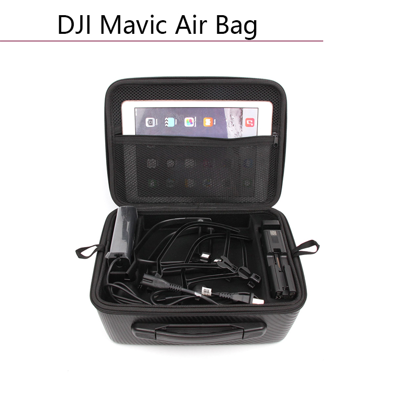 Double deck Storage Bag Carrying Case for DJI Mavic Air Drone Portable Handheld Box Protective Transport Waterproof Shoulder Bag