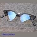 Mujeres de La Moda Retro Lentes de los Vidrios Frames Glasees Miopía Del Marco Para Los Hombres Las Mujeres de la Vendimia Grandes Gafas Oculos gafas