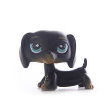 цена LPS Pet Shop Toys Dolls Cat Dachshund Dog Collection Stand Action Figures High Quality littlest Model Toys Gifts Cosplay Toys онлайн в 2017 году