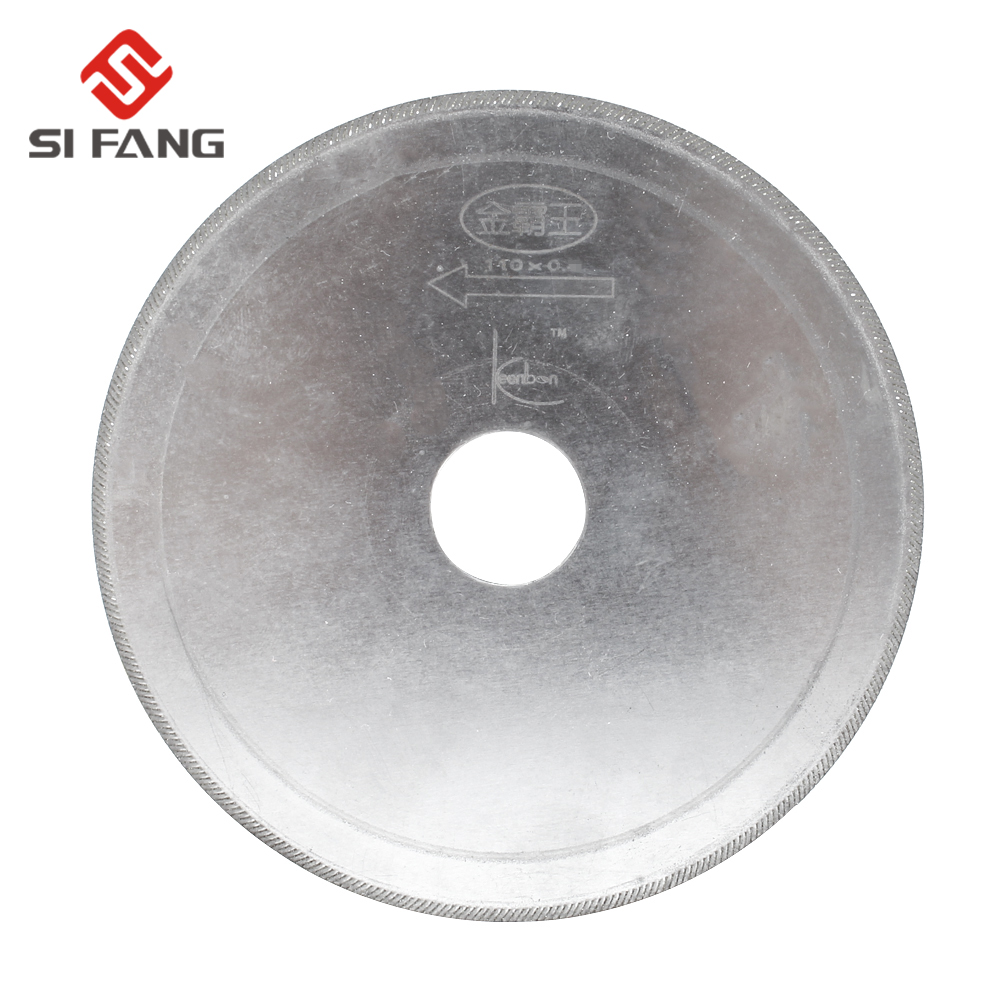 110MM Diamond Lapidary Saws Trim Blade Super Thin Edge Wet Cutting Disc Jewellery Tools For Glass Stone Or Rock Aperture 20mm