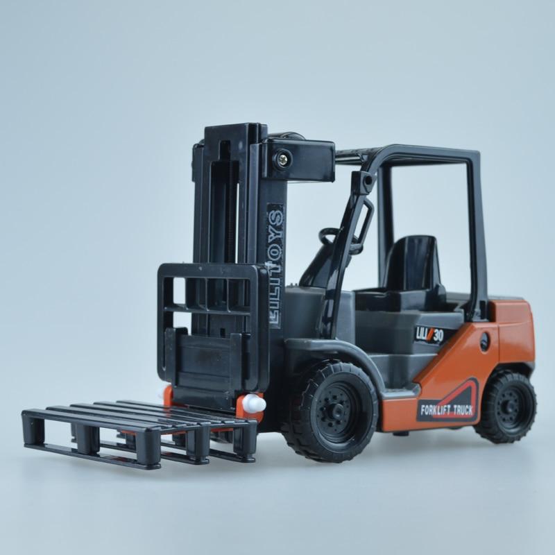Mini viličar Model Toy inženjering Vozilo Fork Lift Plastični - Dječja i igračka vozila - Foto 3