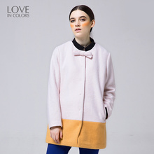 Loveincolors New Fashion Pregnant Coats Women Long Full Winter Warm Solid Pregnancy Comfortable Pocket Maternity Woolen Overcoat