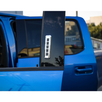 Chrome ABS Car Door Password Code Lock Switch Button Frame Cover Trim Sticker Styling For Ford F150 2015+ ABS