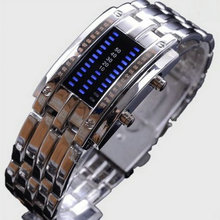 Multifunctional personality strip fashion led electronic waterproof table sports watch