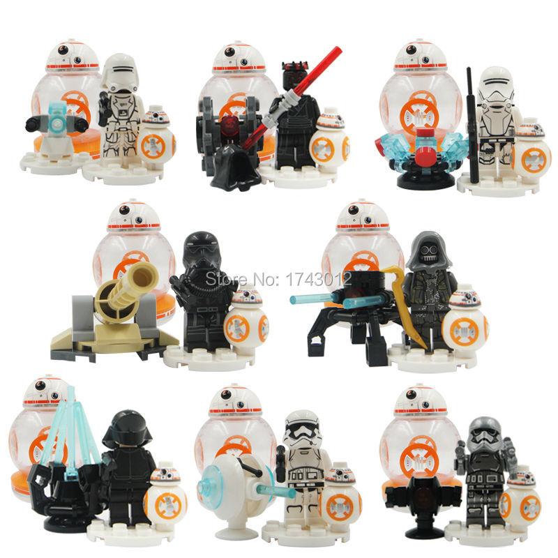 03027 Building Block Star Wars Series Intelligent Ball Type Robot BB-8 children Blocks Baby toys toys for children