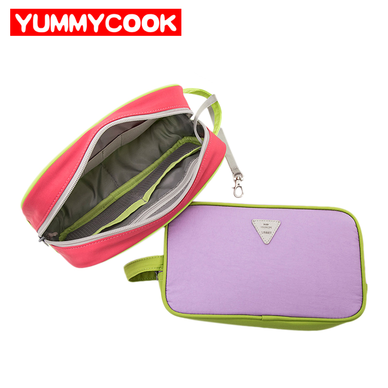 Portable Travel Electronic Accessories Digital Cable Storage Bag Wires Gadget Organizer Zipper Pouch Mobile Supplies Product