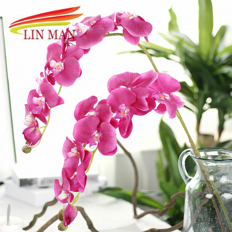 For party silk orchid artificial flower heads butterfly orchid for party silk orchid artificial flower heads butterfly orchid flowers for wedding decoration in artificial dried flowers from home garden on mightylinksfo