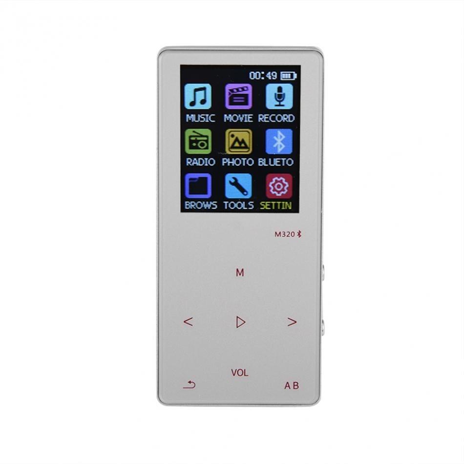Hifi-player 1,8 tft Touch Mp3-player Schlüssel 8 Gb Bluetooth Hifi Mp3 Musik Voice Recorder Fm Radio E-buch Tf HöChste Bequemlichkeit
