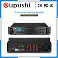 OUPUSHI IP150A 150-700 Вт сетевой усилитель мощности вещания TCP/IP система вещания перегородка дистанционное управление усилитель мощности