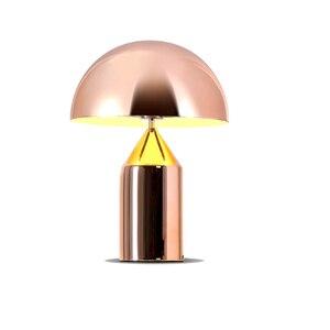 Image 2 - Lampada da tavolo moderna a Led a fungo in metallo lampada da lettura a Led lampada da scrivania a Led Deco per sala studio