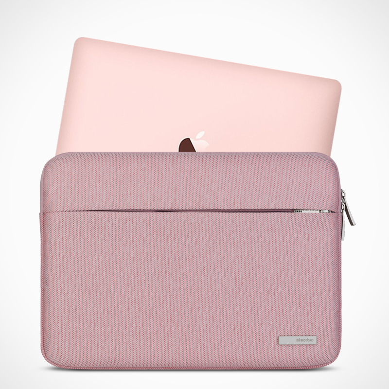 Män 13 15 Notebookväska Sleeve Soft Laptop PC Väska till Xiaomi Dell Lenovo Toshiba HP ASUS Acer Macbook 11 12 15,6 tums bärväska