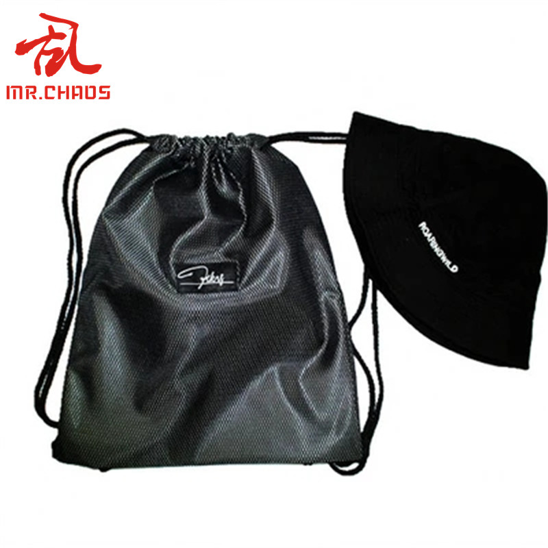 Knight Drawstring Backpack Rucksack Shoulder Bags Training Gym Sack For Man And Women