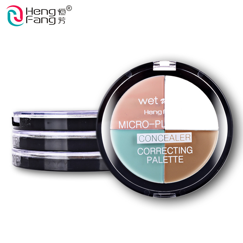 3 Style Correcting Palette Concealer Highlight Bronzers Hide The Blemish 15.5g Face Makeup Brand HengFang bbsm
