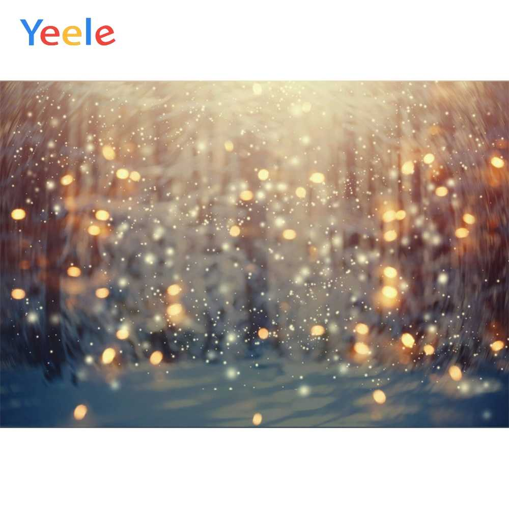 Yeele Light Bokeh Glitters Swirl Dreamy Baby Portrait Photography Backgrounds Customized Photographic Backdrops for Photo Studio