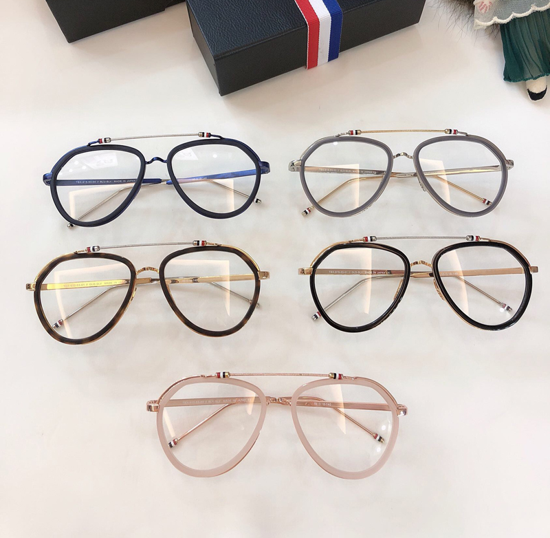 New York Vintage Optical thom Eyeglasses Frame Men Women Computer Myopia Eye Glasses Spectacle Frame Women's Female with box image