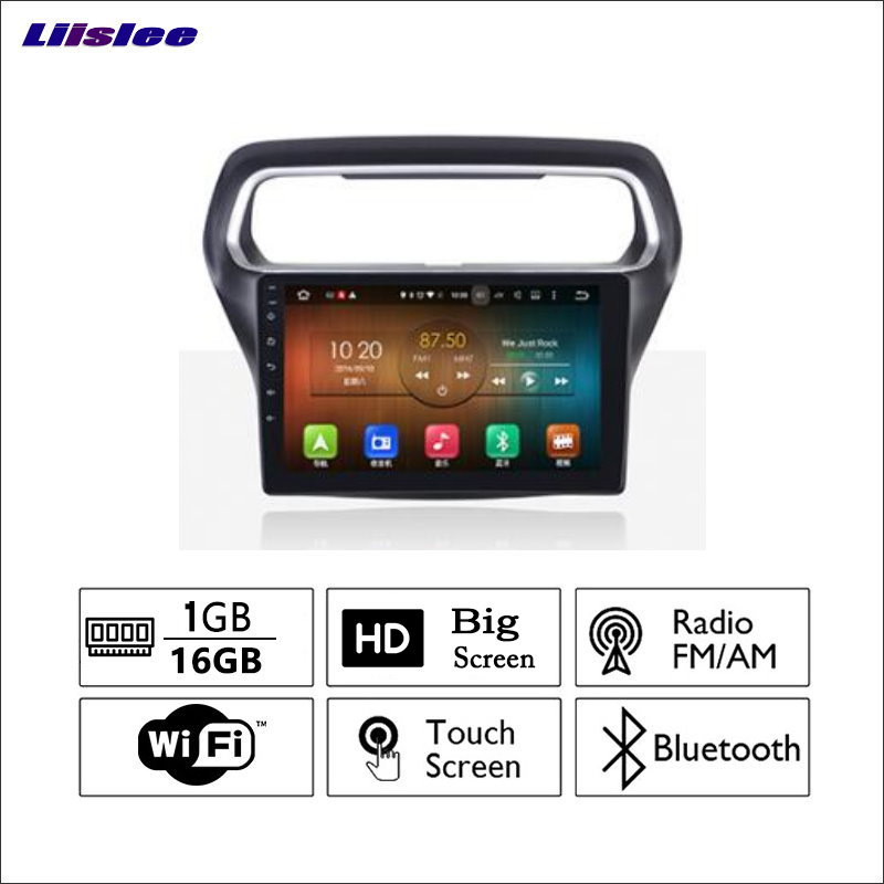 Liislee For Ford For Forex club 2011~2017 Car Radio GPS Audio Video Multimedia Player Wi ...