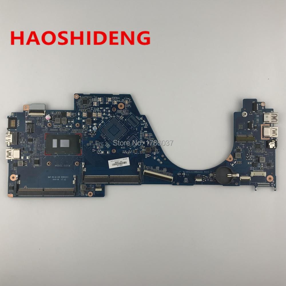 855831-601 DAG31AMB6D0 G31A For HP PAVILION 14-AL 15-AS series Motherboard with i3-6100U CPU,All functions fully Tested!
