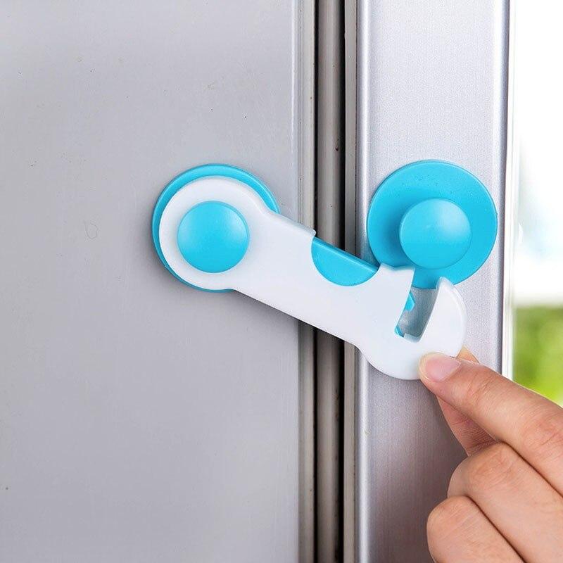 5 Pcs Baby Drawer Lock Children Security Protection For Cabinet Toddler Child Safety Lock Refrigerator Window Closet Wardrobe