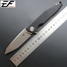 Eafengrow CH3004 Camping Folding Knife D2 Steel Blade G10 Handle Two Colors EDC Outdoor Knives Hand Tool