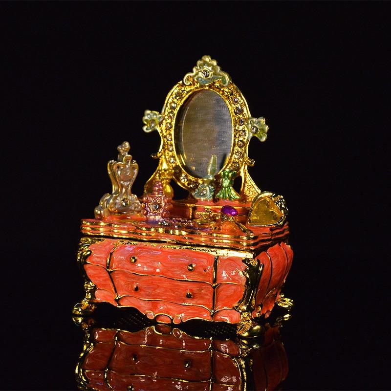 Qifu Home Decoration Elegant Dresser Trinket Box