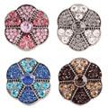 10 pçs/lote Partnerbeads Atacado ginger snaps Pulseiras & Pulseiras fit 18 MM snaps botões Jóias KC7102