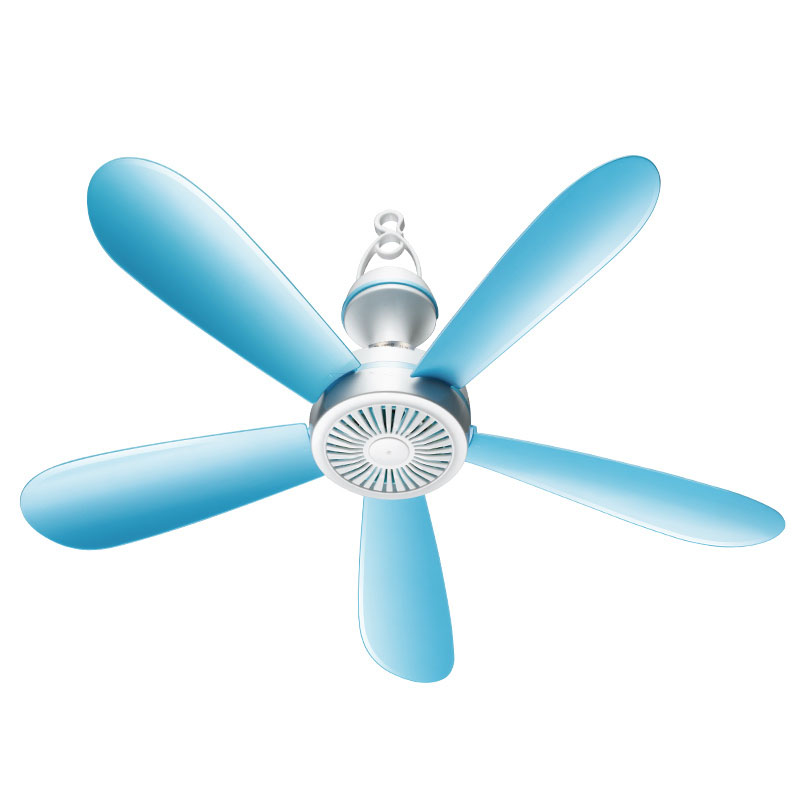5 Leaves Small Ceiling Fan Mini Breeze Dorm Room Student Turn Page Bed Silent Electric Fan Wind Force stable page 5