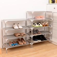 New Non-woven Fabric Storage Shoe Rack Hallway Cabinet Organizer Holder 2/3/4/5/6 Layers Select Shelf DIY Home Furniture