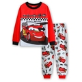 2016 Autumn new Baby boy tracksuit set Cars boys pyjamas sets cotton T-shirt+pants 2pcs sets long sleeve