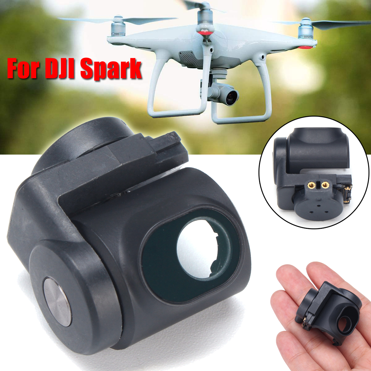 Gimbal Motor Axle Arm Spare Part Repair Replace for DJI Spark Drone RC New