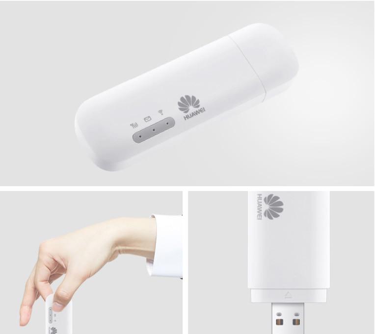 Huawei E8372h-155 4G LTE 150 Mbps USB WiFi Modem routeur Wifi