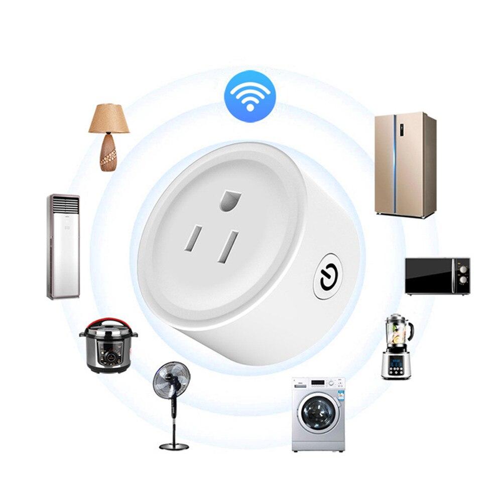 2 pièces prise Alexa US WIFI prise intelligente prise à distance Mini prise intelligente téléphone App minuterie intelligente WIFI commutateur de prise à distance 100-240 V 10A