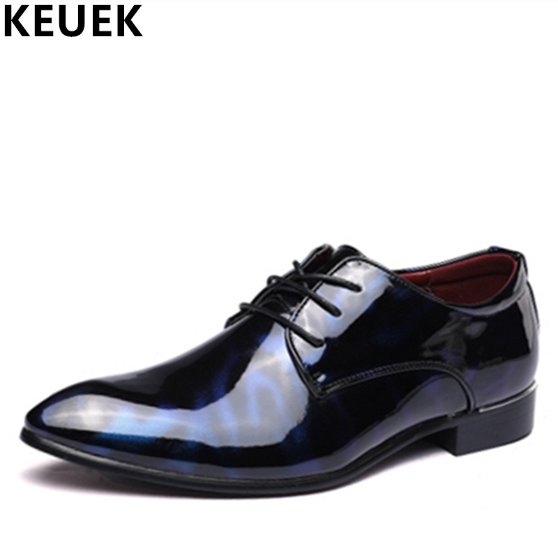Casual leather shoes Lace