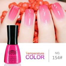 Perfect Summer Temperature Changing Gel Color UV Gel Nail Polish 8ml Nail Gel LED UV Soak off Long Lasting Gel Polish