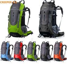 Marque Creeper 45L-65L étanche femmes et hommes sport en plein air voyage sac à dos pour l'escalade camping, randonnée, cyclisme ordinateur portable sac