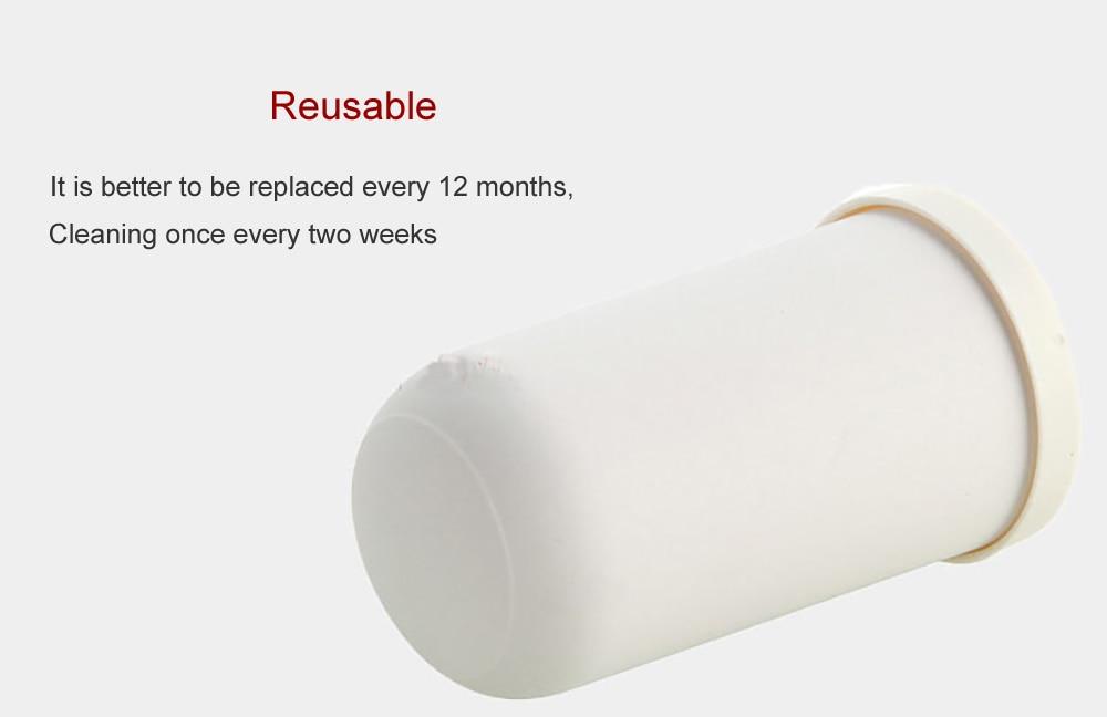 2 шт. кран очиститель воды керамический фильтр активированный уголь натуральный диатомовая керамический фильтр для воды