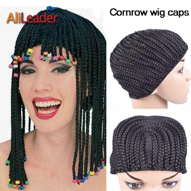 Alileader Top clip en trenzas crochet trenzado peluca Cap buen ...
