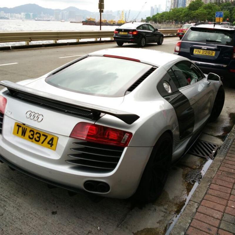 R8 GT Style Carbon Fiber Auto αυτοκίνητο Πίσω - Ανταλλακτικά αυτοκινήτων - Φωτογραφία 3
